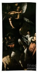 The Seven Works Of Mercy Bath Towel