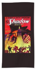 The Shadow Shadowed Millions Bath Towel