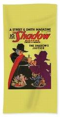The Shadow The Shadows Justice Bath Towel