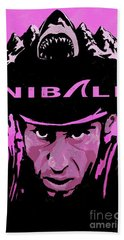 The Shark Of Messina Nibali Bath Towel