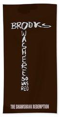 The Shawshank Redemption Movie Poster 2 Hand Towel
