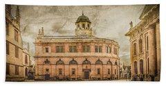 Oxford, England - The Sheldonian Theater Bath Towel