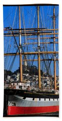 The Ship Balclutha Hand Towel