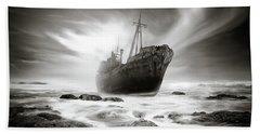The Shipwreck Bath Towel
