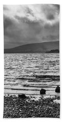 Hand Towel featuring the photograph The Shores Of Loch Lubnaig by Christi Kraft