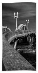 The Sierra Vista Bridge Of Roseville Bath Towel