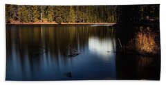The Silence Of The Lake Hand Towel