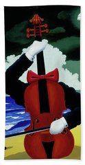 The Silent Soloist Hand Towel