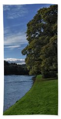 The Silvery Tay By Dunkeld Hand Towel