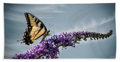 Bath Towel featuring the photograph The Sky Is The Limit by Judy Wolinsky
