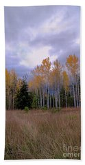 The  Song Of The Aspens 2 Bath Towel by Victor K