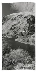 South Fork Boise River 3 Hand Towel