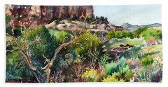 The Spirit Of Ghost Ranch Hand Towel