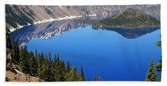 The Splendor Of Crater Lake Hand Towel