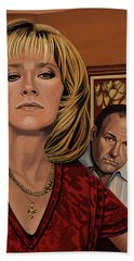 The Sopranos Painting Hand Towel