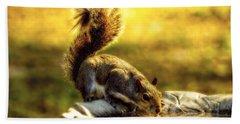 The Squirrel Bath Towel