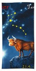 The Star Taurus Hand Towel