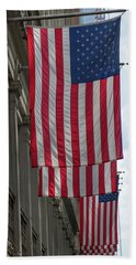 The Stars And Stripes Hand Towel
