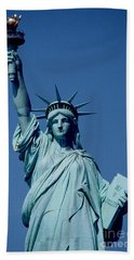 The Statue Of Liberty Hand Towel