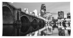 The Central Avenue Bridge Bath Towel