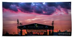 The Stone Pony Summer Stage Hand Towel by Colleen Kammerer