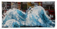The Storm- Large Work Bath Towel