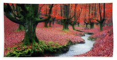 The Stream Of Life Hand Towel