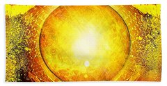 The Sun In Your Hands Hand Towel