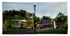 The Sun Rises On Western Carolina University Hand Towel