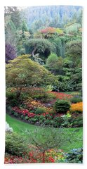 The Sunken Garden Hand Towel