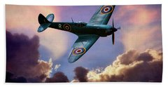 The Supermarine Spitfire Bath Towel