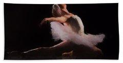 The Swan  Hand Towel