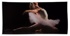 The Swan  Bath Towel