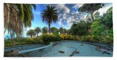 The Swimming Pool Of The Former Summer Vacation Building - La Piscina Dell'ex Colonia Marina Bath Towel
