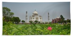 The Taj Mahal Bath Towel