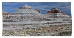 Hand Towel featuring the photograph the TeePees by Gary Kaylor