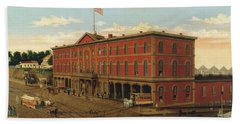 The Third Avenue Railroad Depot Hand Towel