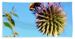 The Thistle And The Bee. Bath Towel