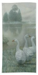 The Three Geese Bath Towel