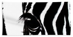 The Three Musketeers - Zebra Bath Towel