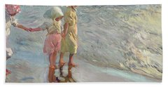 The Three Sisters On The Beach Hand Towel