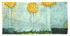 The Three Trees - Y2901b Hand Towel