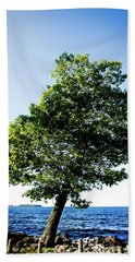 Bath Towel featuring the photograph The Tree by Onyonet  Photo Studios