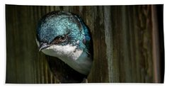 The Tree Swallow Bath Towel