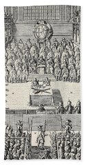 The Trial Of Charles I Hand Towel