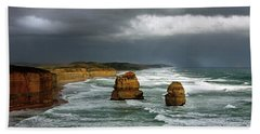 The Twelve Apostles Hand Towel by Marion Cullen