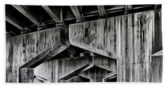 Hand Towel featuring the photograph The Urban Jungle by Brad Allen Fine Art