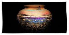 The Vase Of Joy Bath Towel by Ray Shrewsberry