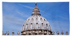 The Vatican Bath Towel by Nick  Shirghio