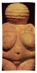 The Venus Of Willendorf Bath Towel